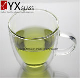 Borossilicato de vidro duplo de vidro resistente ao calor / Copo de bebida de café Expresso Juice Cup