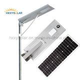 5W-120W todo em uma luz de rua solar Integrated do diodo emissor de luz com o melhor preço
