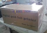 Roulis pour rouler la presse à emboutir de clinquant chaud, imprimante de bande de clinquant d'or de Digitals 360mm