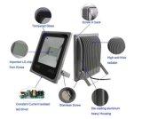 電池交換可能なLEDの洪水ライト10W