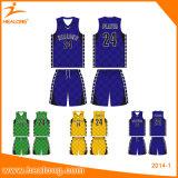 Baloncesto modificado para requisitos particulares marca de fábrica superior Jersey de la sublimación con alta calidad