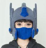 재미있은 변압기 Handmade 뜨개질을 하는 뜨개질을 한 겨울 모자