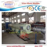 Ligne en plastique d'extrusion de pipe de PVC de machines