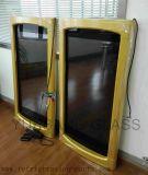 Дверь прозрачной индикации LCD стеклянная для замораживателя