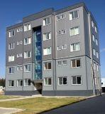 아파트와 사무실을%s 강철 구조물 건물