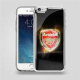 Anti caisse de téléphone de densité d'impression transparente pour l'anti cas de couverture de téléphone mobile de densité de l'iPhone 6/6s