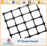 40ft Container에서 20kn 30kn 40kn PP Biaxial Geogrid Mix