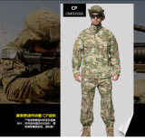 Tela americana de los militares del camuflaje del bosque del estilo
