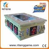 Quarto de jogo que aluga a máquina de jogo dos peixes do caçador do dragão