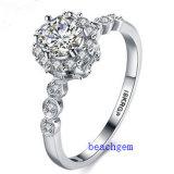 Heet verkoop de Ringen van het Messing van het Zirkoon van Juwelen (R0824)