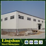 Estrutura pré-fabricada de aço leve Prefab Warehouse / Workshop