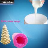Platinum Cure en caoutchouc de silicone pour la fabrication de moules de savon colorées