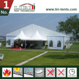 5000 de Witte Tent van de Tentoonstelling van de Tent Seaters Openlucht met de Reclame van Muur