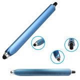 Acero inoxidable 2 en 1 bolígrafo para hacer publicidad de la promoción