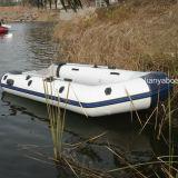 Crogiolo gonfiabile poco costoso di barca di gomma di Liya 2-6.5m con il motore esterno
