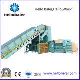 Prensa automática horizontal para o papel Waste de Occ com transporte