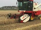 건조한 땅에 있는 좋은 밥 결합 수확기