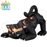 De openlucht Reuze Opblaasbare Zwarte Kat van Halloween voor Verkoop