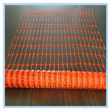HDPE, cerca de seguridad plástica anaranjada de los PP