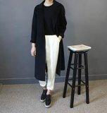 Nuova femmina di stile 2017 in cappotto lungo