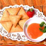 Triangle Frozen Vegetable 12.5g / Piece Samosas avec certification HACCP
