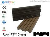 plancia di plastica di legno del composto WPC di nuova tecnologia di 57*13mm