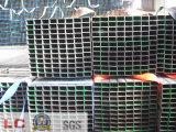 tubo d'acciaio rettangolare nero di 50mmx30mm