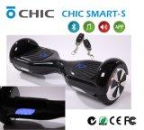 """O """"trotinette"""" esperto de equilíbrio elétrico de duas rodas entrega o transportador livre, pessoal, Eco-Friendly"""