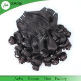 未加工インドの毛の化学薬品は、自由なもつれFumiのカールの人間の毛髪放す