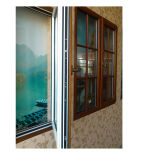 70 [سري] ألومنيوم مركّب خشب نافذة