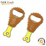 Porte-clés montable en cuir Ym1144 d'ouvreur de bouteille