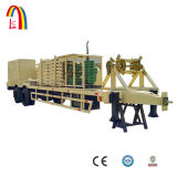 1000-680 자동적인 아치 강철 지붕 건축 기계