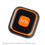 큰 Sos 단추 소형 GPS 추적자는을%s 가진 기능 경보 아래로 넘어진다