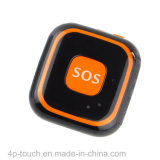 Große PAS-Taste fallen Mini-GPS-Verfolger mit unten Warnungs-Funktion
