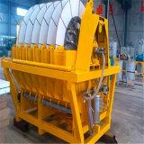 Matériel de filtre à vide de disque/disque pour le prix de procédé de rectification de minerai de cuivre