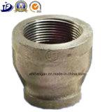 Carcaça do ferro de China encaixe de tubulação tripartido da carcaça/de ferro/areia feitos sob encomenda de molde
