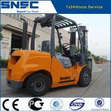 Forklift do diesel da braçadeira 3ton do bloco de Snsc