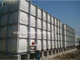 Tanque de água portátil montado painel da fibra de vidro de GRP FRP
