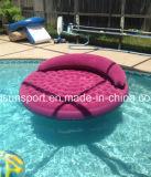 Colchón inflable del flotador del juguete del agua del salón del PVC para el parque de atracciones