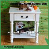 木の居間の家具の端表(W-CB-418)