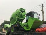 Vrachtwagen 4cbm van de Concrete Mixer van de Lading van China Zelf de Capaciteit van het Werk