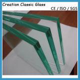 vidrio claro de /Toughened del vidrio Tempered de 19m m con el Ce, SGCC