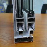 Guichet de glissement en aluminium de profil de bonne qualité, guichet en aluminium, guichet K01105