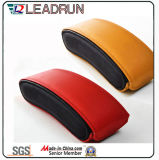 Vidrio de Sun unisex polarizado plástico de la PC del cabrito del acetato del metal del deporte de Sunglass de la manera del metal de madera de la mujer (GL19)
