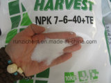 溶けるNPK混合肥料7-6-40