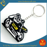 PVC all'ingrosso Keychain (LN-0179) di 3D Motor Design Rubber Soft