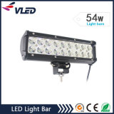 "9 ""54W Doble Fila CREE LED que conduce el coche de barra de luces"