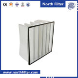 Filtro dell'aria Pocket della fibra sintetica per ventilazione