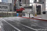 Ranurador automático de alta velocidad del CNC del cambio de la herramienta del CNC