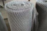 304/316 de engranzamento de fio feito malha do aço inoxidável